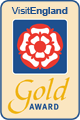 VisitEngland Gold Award Guest Accommodation