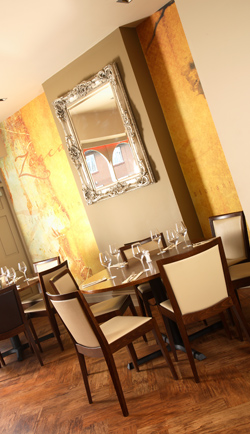Zacca restaurant, Amble
