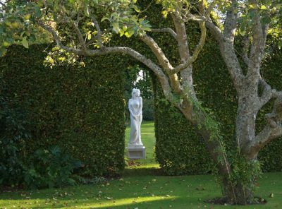 The garden at West Acre House