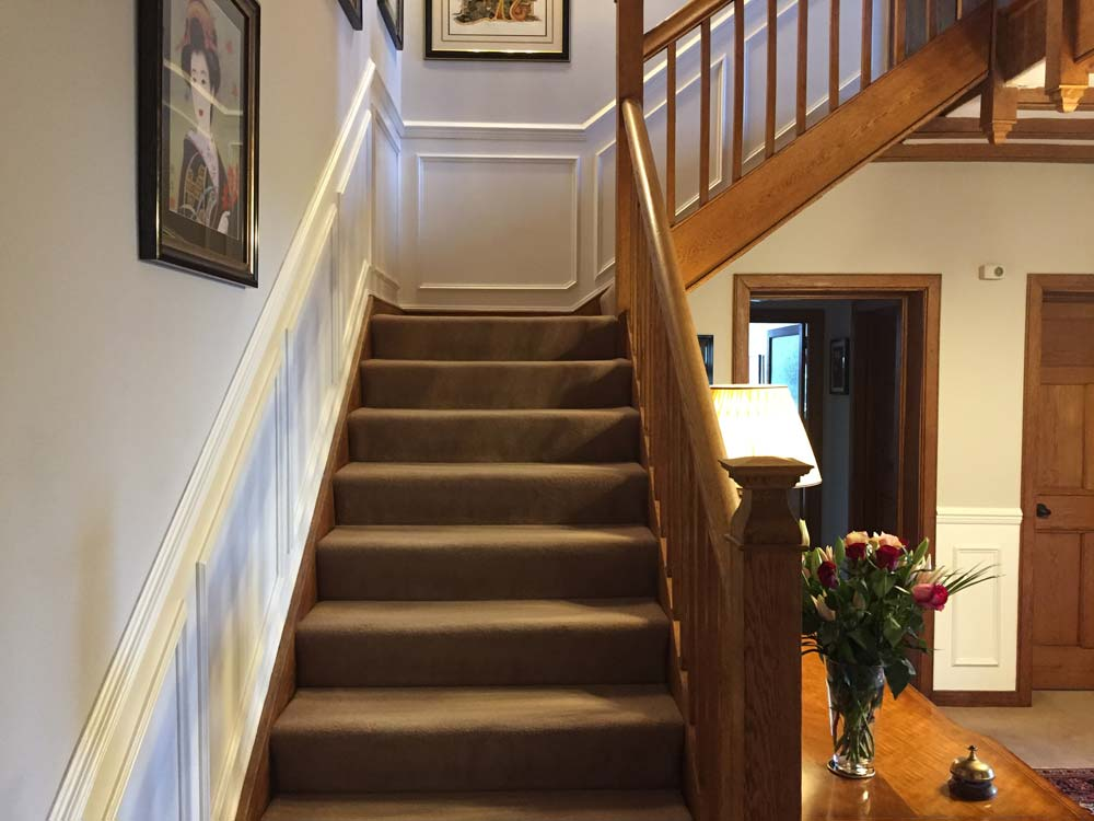 Stairs to bedrooms