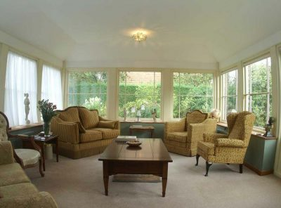 Garden room at West Acre House